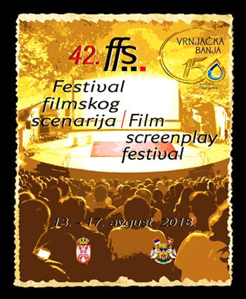 42. Festival filmskog scenarija - Plakat