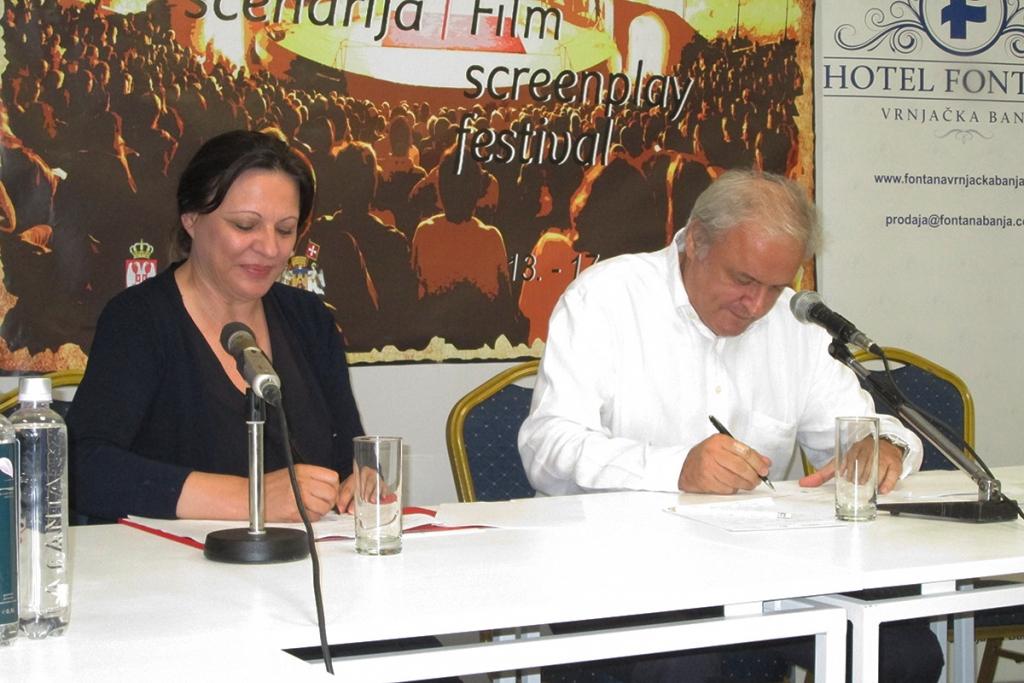 Potpisivanje ugovora o produkciji serije Kosti